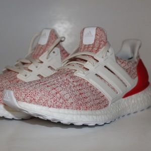 d1a12d7a177 Adidas UltraBOOST W 4.0 Active Red White Wmn Runni